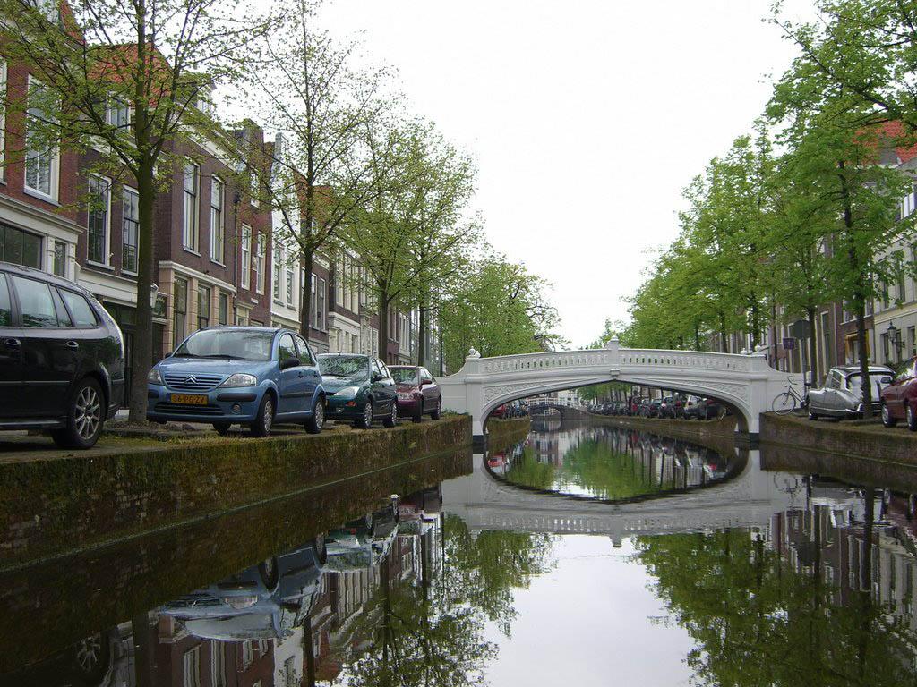 Обои набережная, освещение, нидерланды, красота, канал. Города foto 16