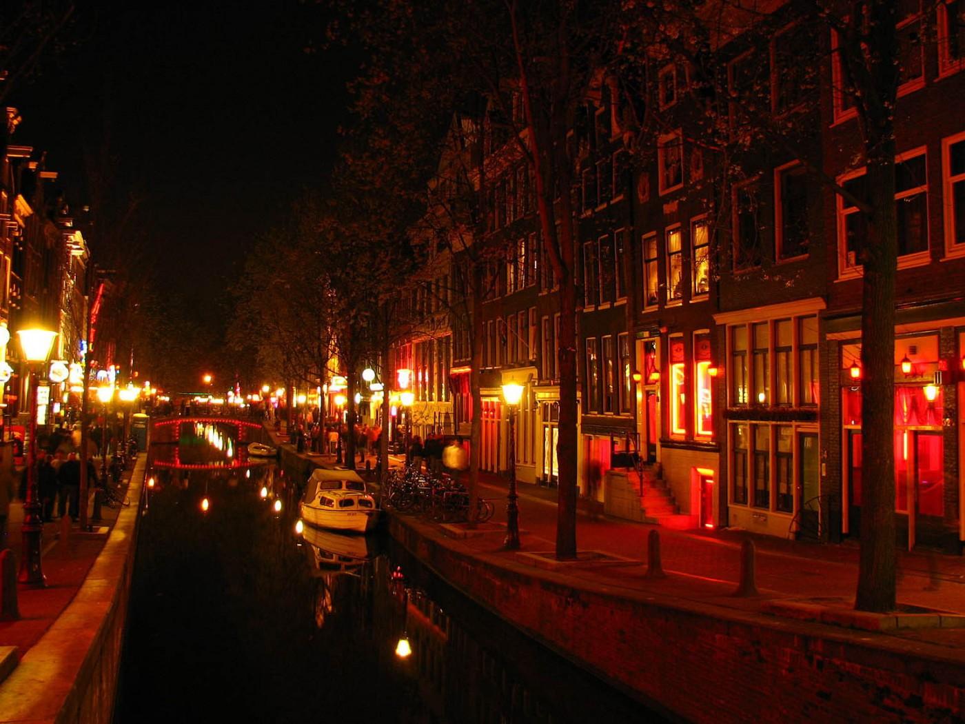 Обои набережная, освещение, нидерланды, красота, канал. Города foto 9